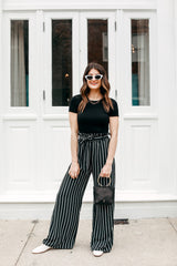 Working For The Weekend Stripe Pants