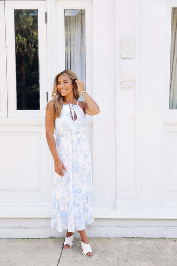 Baby Blue Dreaming Maxi Dress