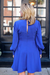 Cobalt Blue Anna Dress