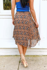 October Florals Skirt