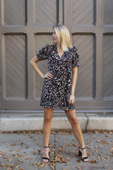 Tiger Wrap Dress