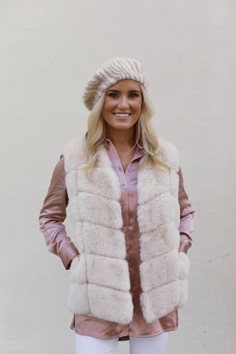 Keep Me Cozy Faux Fur Vest