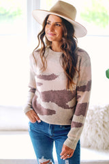 Cozy and Camo Top