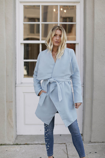 Baby Blue Dreams Coat