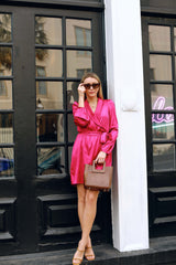 Fuchsia Feels Dress