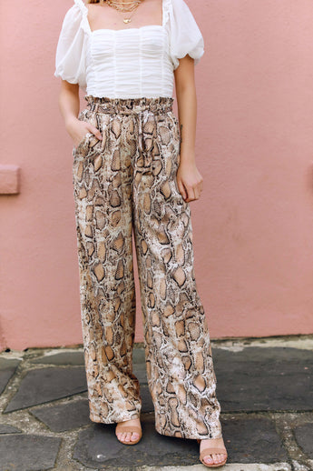 Silky Slither Pants