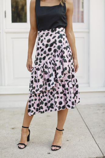 Twist And Shout Tiered Skirt