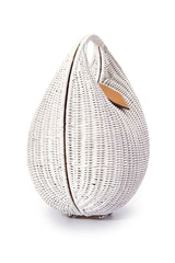Eva Wicker Bag- White - Maris DeHart