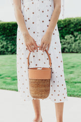 Lucy Wicker Bucket Bag - Maris DeHart