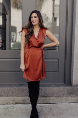 Hostess With The Mostess Wrap Dress - Maris DeHart