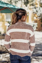 Out Of Office Striped Sweater - Maris DeHart
