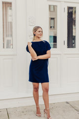 At Midnight Velvet Dress - Maris DeHart