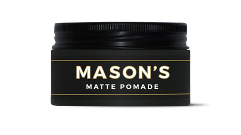 Matte Pomade for Men's Hair Styling by Mason's Pomade