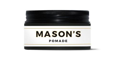Mason's Water-Based Gel Pomade For Men's Hairstyling