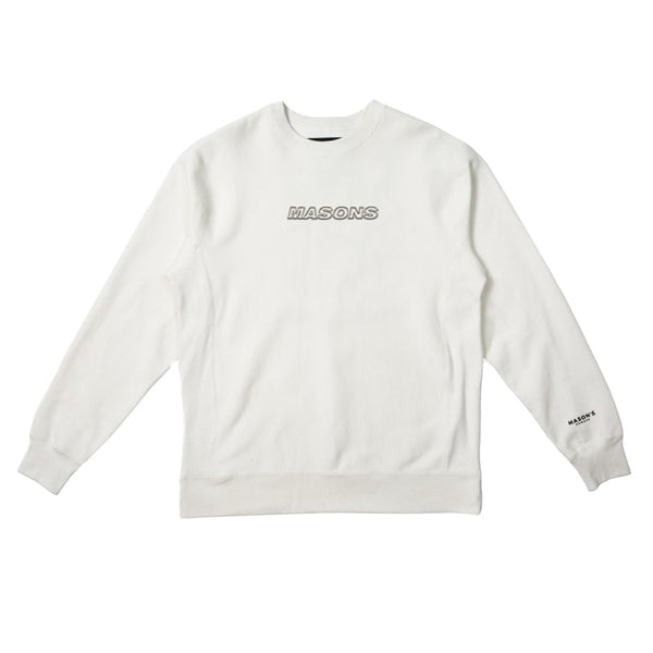3D Embroidered Crewneck