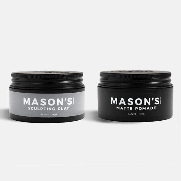 Sculpting Clay & Matte Pomade