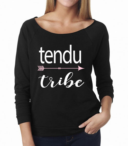 Belle 'TENDU TRIBE' French Terry Long Sleeve
