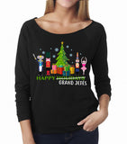 Belle 'HAPPY GRAND JETES' French Terry Long Sleeve