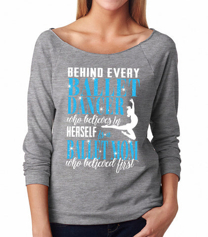 Belle 'BELIEVED FIRST' French Terry Long Sleeve