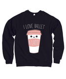 Belle Princess 'LATTE' Crewneck