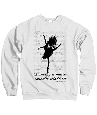 Belle Princess 'MUSIC MADE VISIBLE' Crewneck
