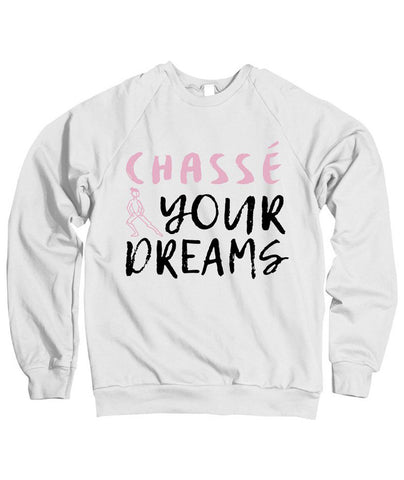 Belle Princess 'CHASSÉ YOUR DREAMS - PINK' Crewneck