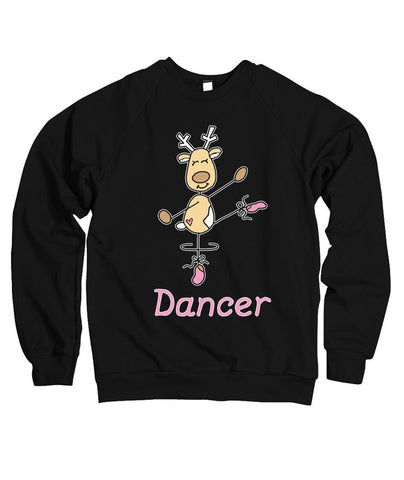 Belle Princess 'DANCER THE REINDEER' Crewneck