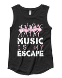 Belle 'MY ESCAPE' Muscle Tee