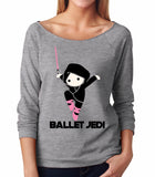 Belle 'BALLET JEDI' French Terry Long Sleeve