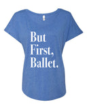 Belle 'But First, Ballet' Tee