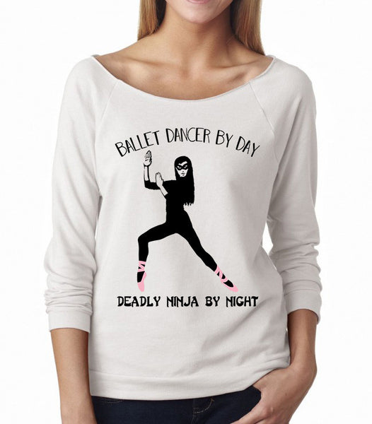 Belle 'NINJA BY NIGHT' French Terry Long Sleeve