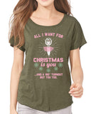 Belle 'ALL I WANT FOR CHRISTMAS' Tee PINK