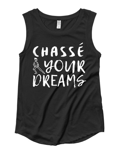 Belle 'CHASSÉ YOUR DREAMS' Muscle Tee