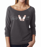 Belle 'LOVE' French Terry Longsleeve