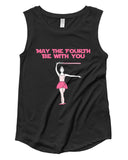 Belle 'Fourth Be With You' Muscle Tee