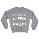 Belle 'COFFEE & BALLET' Crewneck