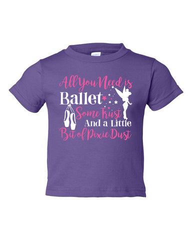 Belle Toddler 'PIXIE DUST' Tee