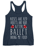 Belle 'ROSES ARE RED' Tank