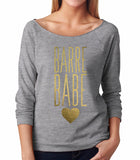 Belle 'Barre Babe' French Terry Longsleeve
