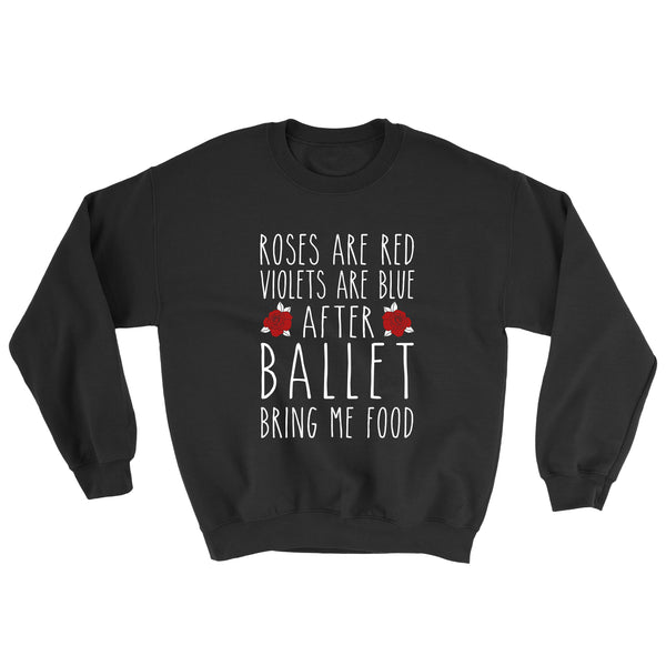 Belle 'ROSES ARE RED' Crewneck