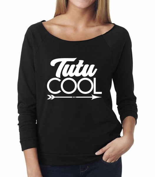 Belle 'TUTU COOL' French Terry Long Sleeve