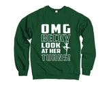 Belle Princess 'OMG BECKY!' Crewneck