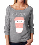 Belle 'LATTE' French Terry Long Sleeve