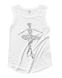Belle 'A BALLERINA'S VOCABULARY' Muscle Tee