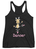 Belle 'DANCER THE REINDEER' Tank PINK