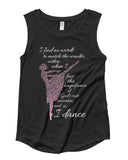 Belle 'NO WORDS' Muscle Tee