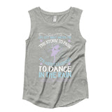 Belle 'DANCE IN THE RAIN' Muscle Tee