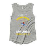 Belle 'CALL ME WONDER WOMAN' Muscle Tee