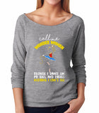 Belle 'CALL ME WONDER WOMAN' French Terry Long Sleeve