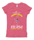 Belle Princess 'CALL ME WONDER WOMAN' Tee